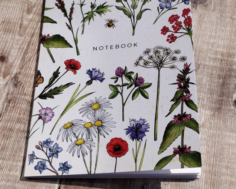 Wildflower notebooks