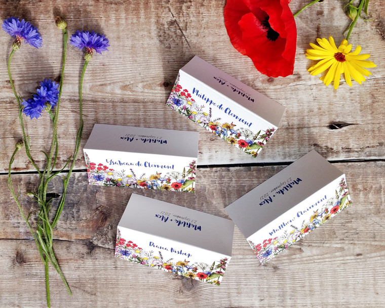Wild Meadow Folded Place Cards