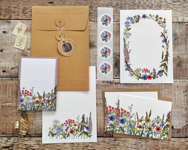 Wild Meadow Letter Writing Set