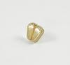 Gold Finish Precious Feet Lapel Pin