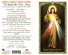 The Chaplet of the Divine Mercy,Laminated prayer card