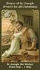Front of PRAYER OF ST. JOSEPH PRAYER CARD