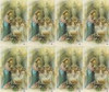 Custom Print Boy and Girl Receive First Communion from Jesus Custom Print Card(custom print 8 cards)