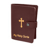 Holy Card Case -Maroon