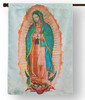 Our Lady of Guadalupe Outdoor House Flag