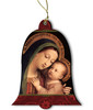 Our Lady of Good Counsel Wood Ornament