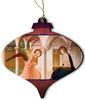 Annunciation Wood Ornament