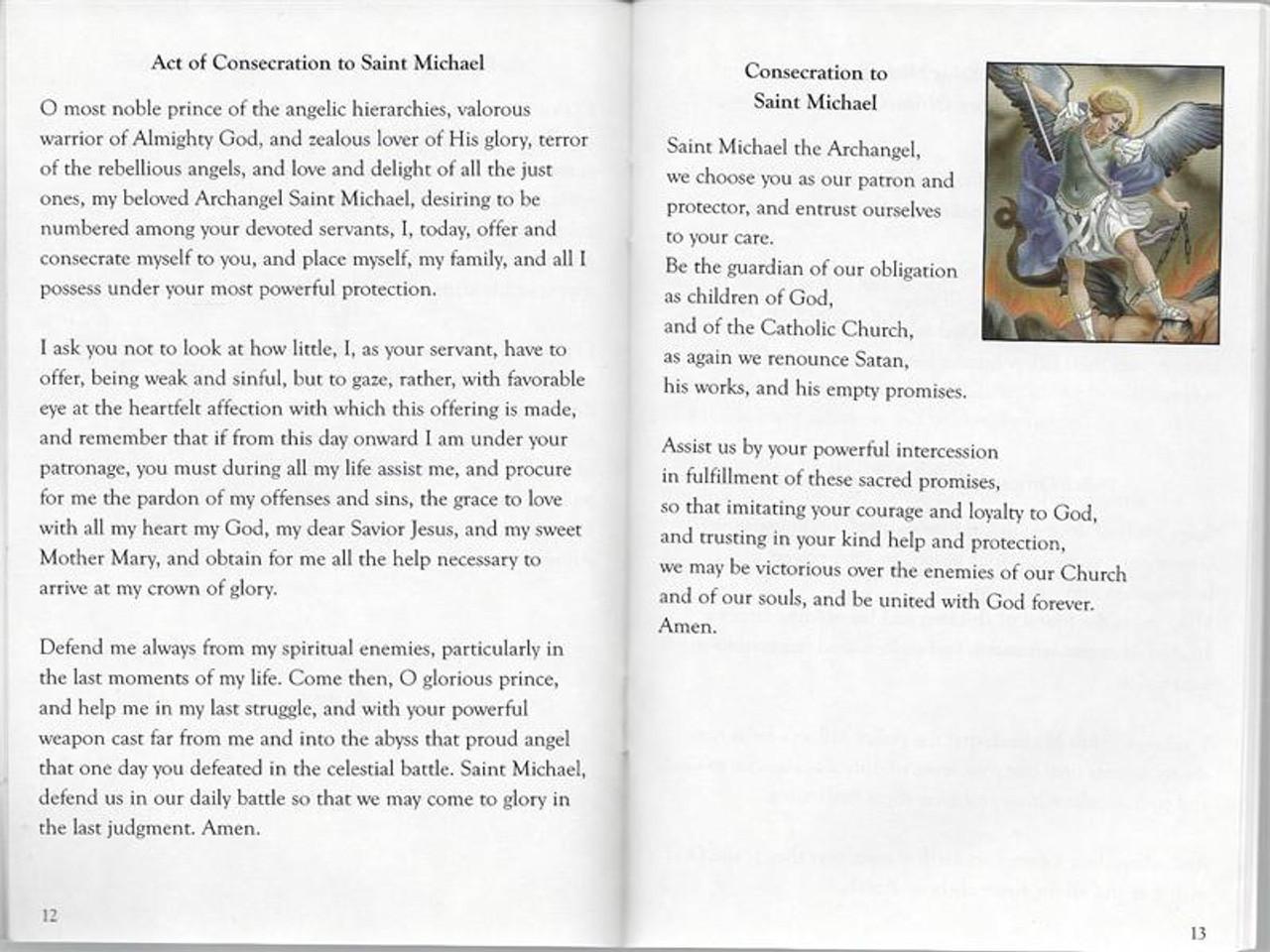 Saint Michael Patron Saints Of The Church