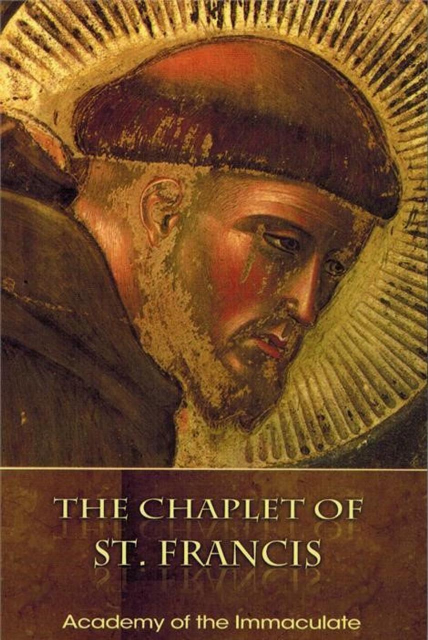 Chaplet of Saint Francis plus Instruction Book