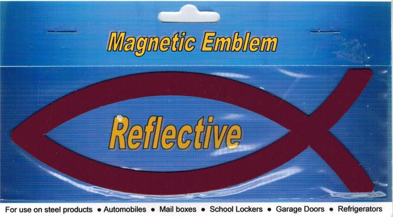 Reflective Fish Magnet