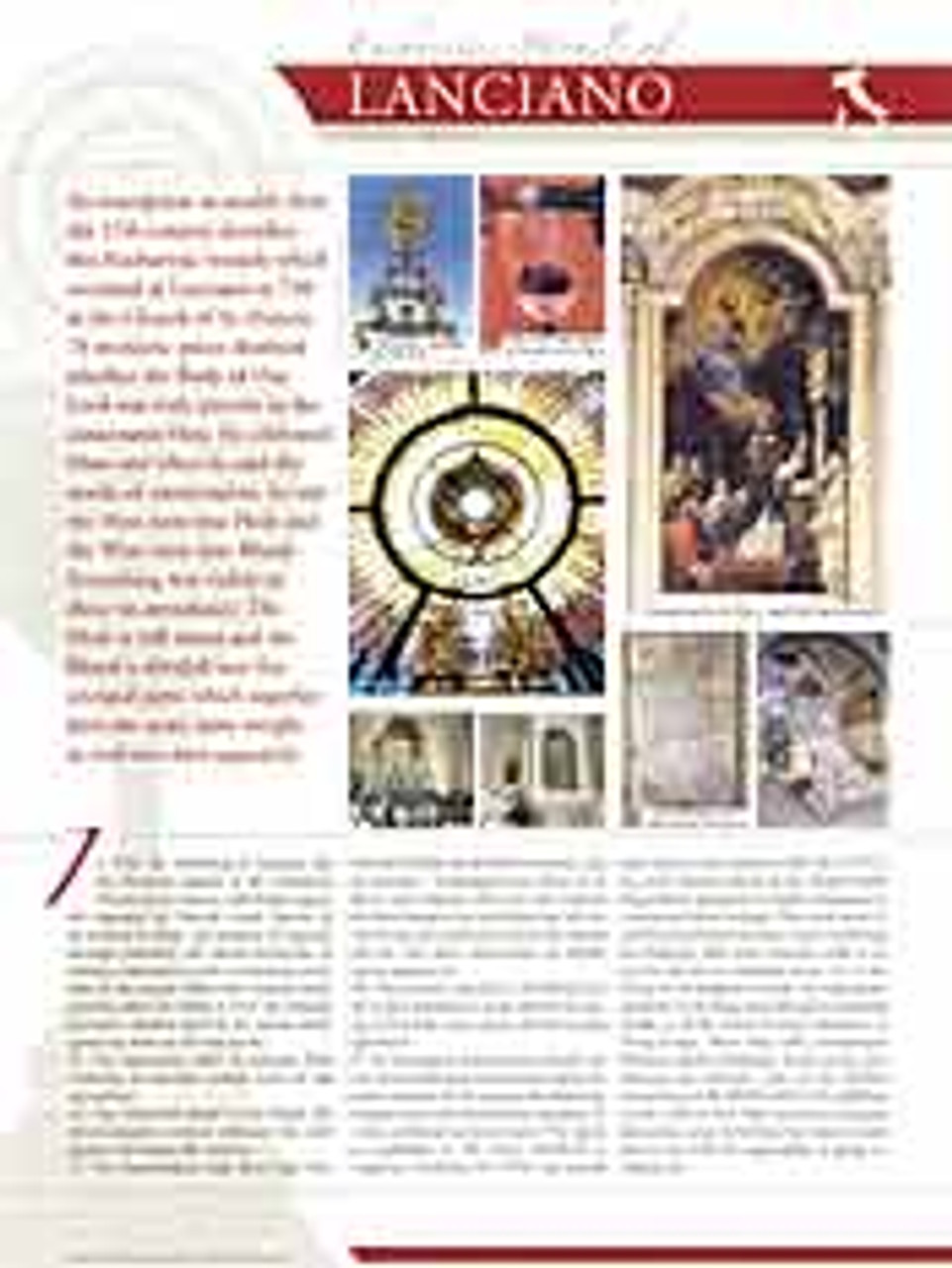 buy Eucharistic Miracles of the World from the Vatican Exhibition from research by Blessed Carlo Acutis