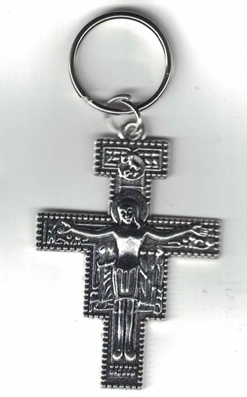 San Damiano Key Chain