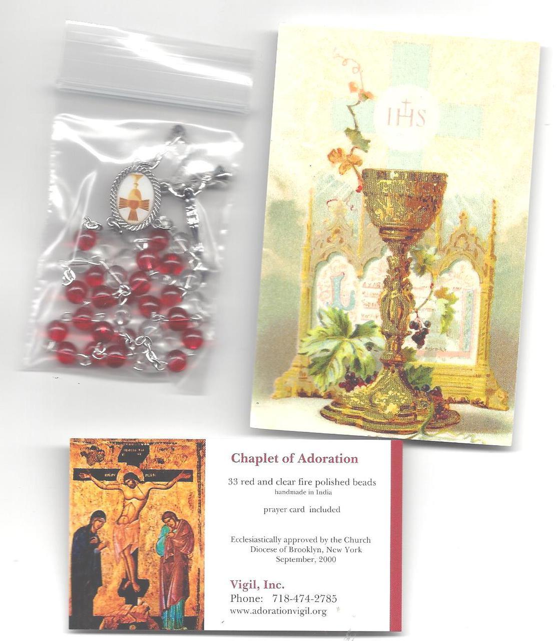 Eucharistic Adoration Chaplet