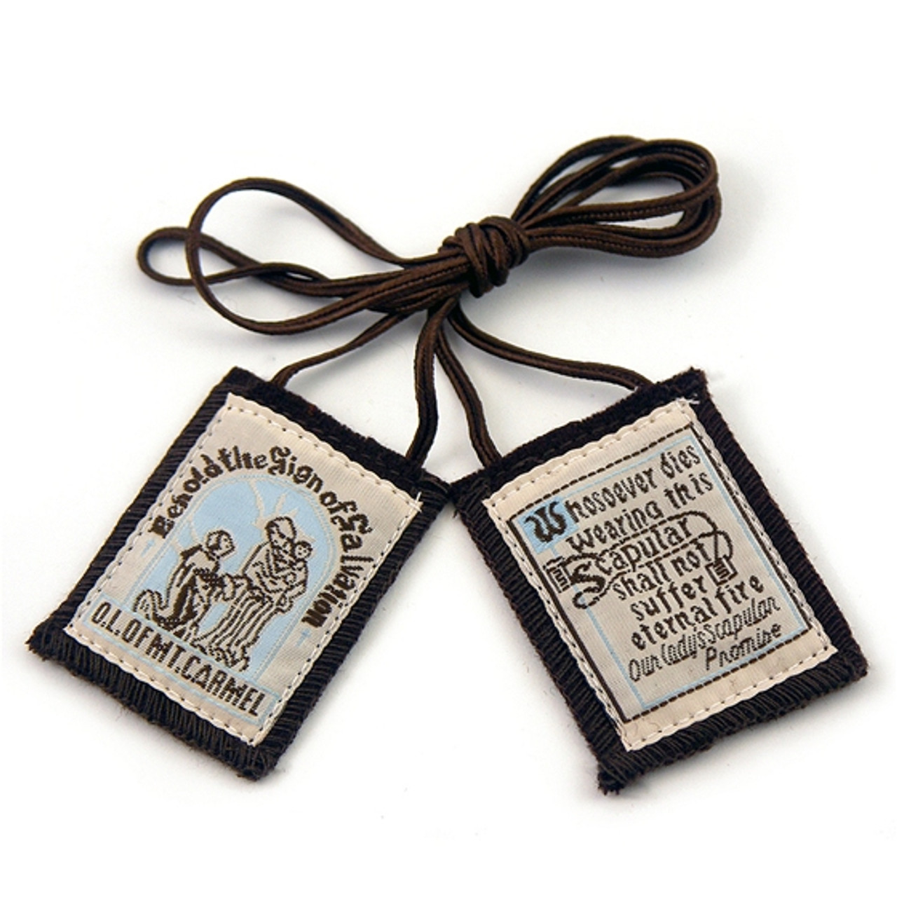 Our Lady of Mount Carmel Brown Scapular