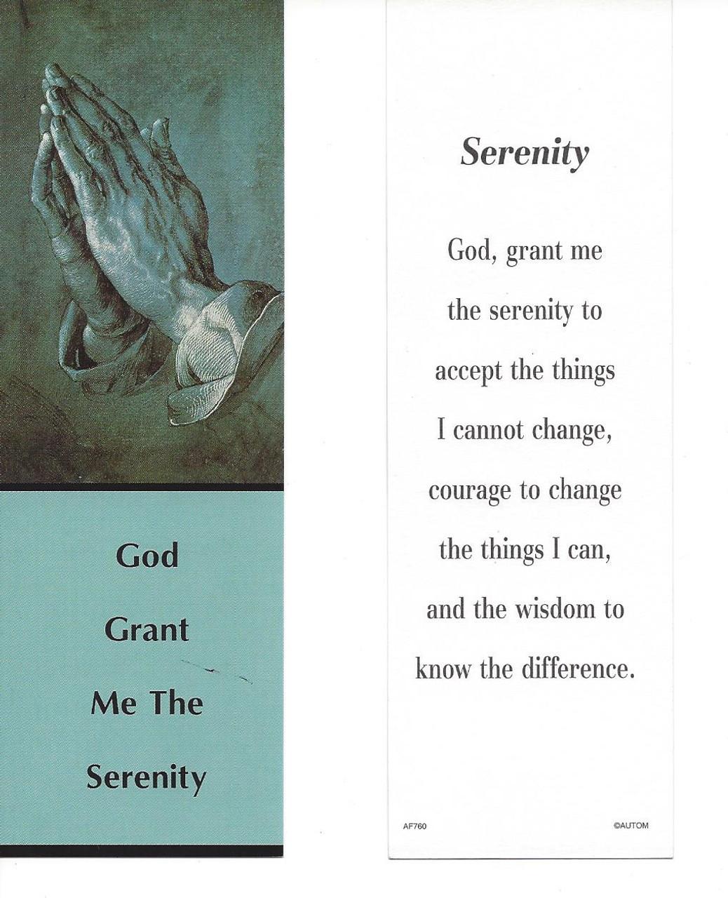 Serenity Bookmark