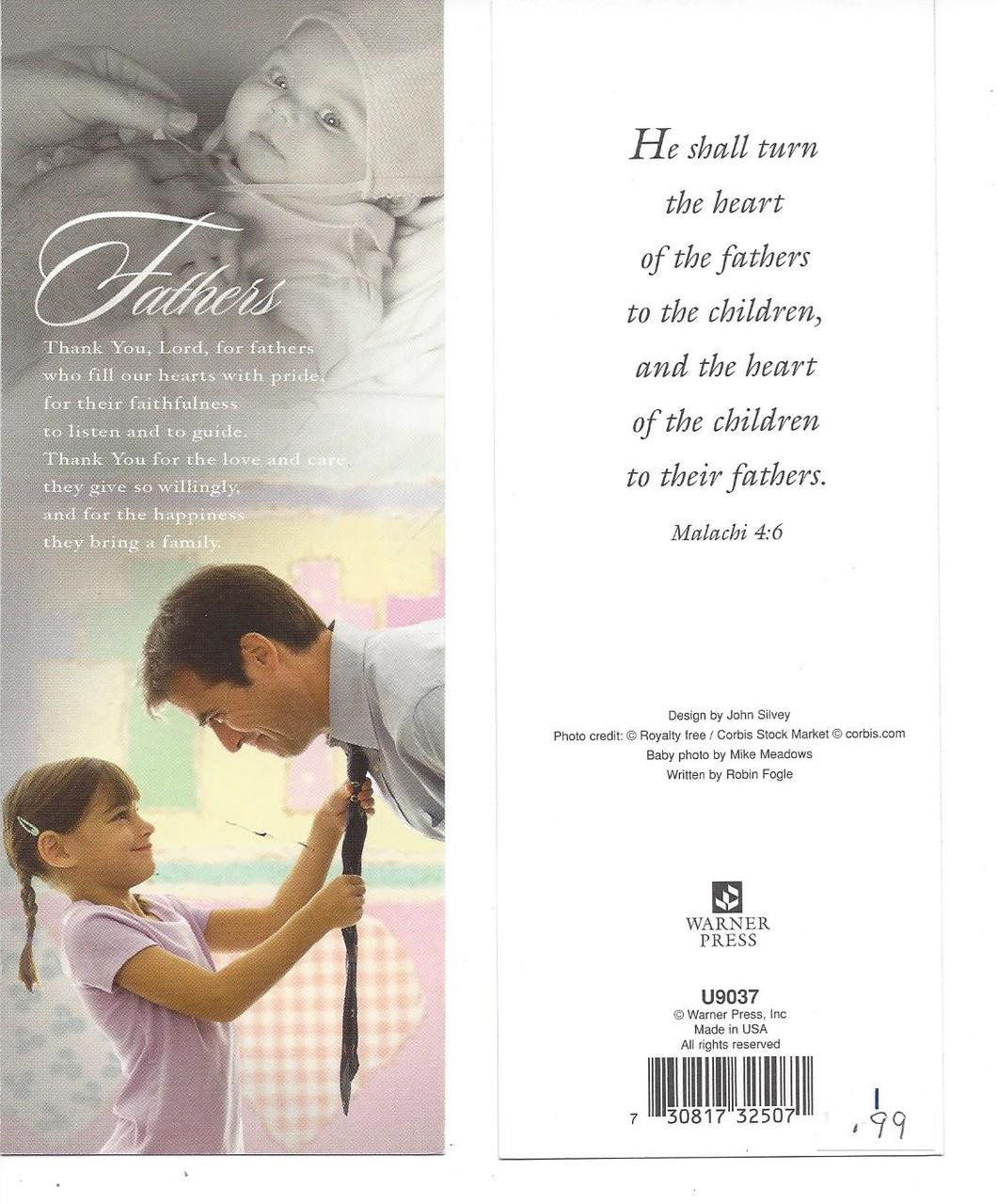 Father's Bookmark