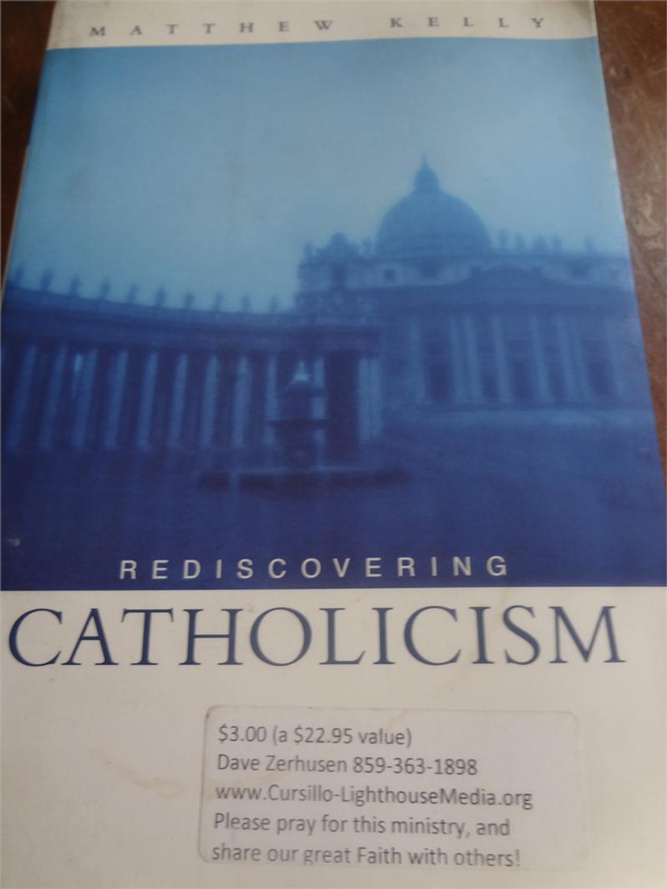 Used Book:Rediscovering Catholicism