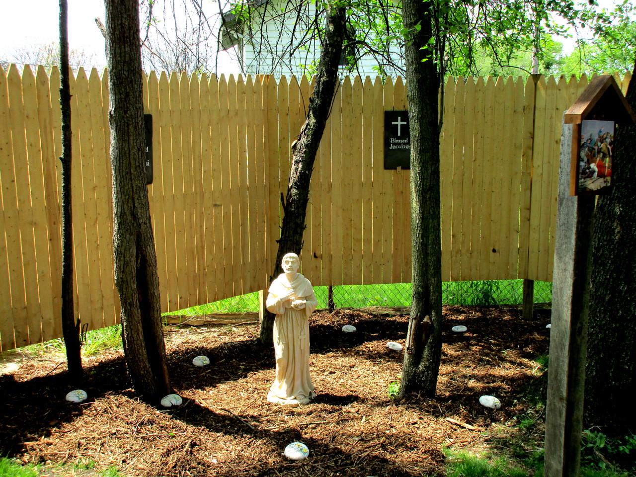 Saint Francis of Assisi Pet Memorial in Mary's Glen, Fort Wayne IN