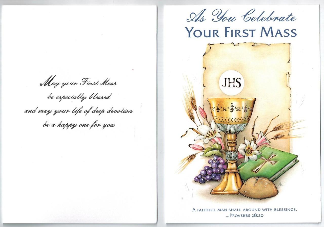 your first mass