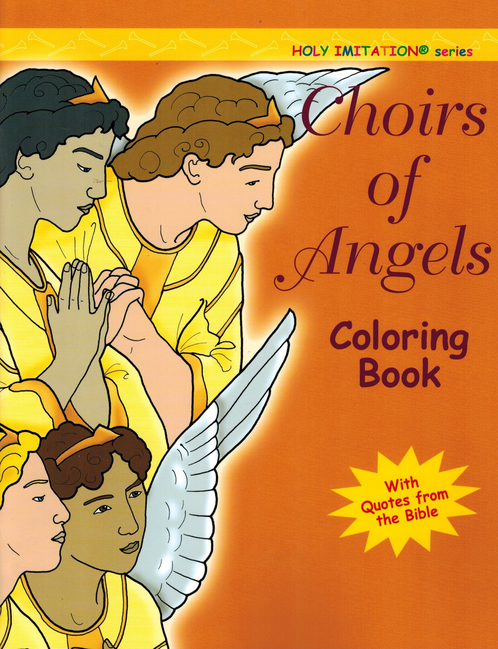 Coloring Book for Adults Choirs of Angels