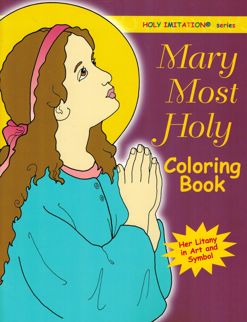 Blessed Virgin Mary Coloring Book