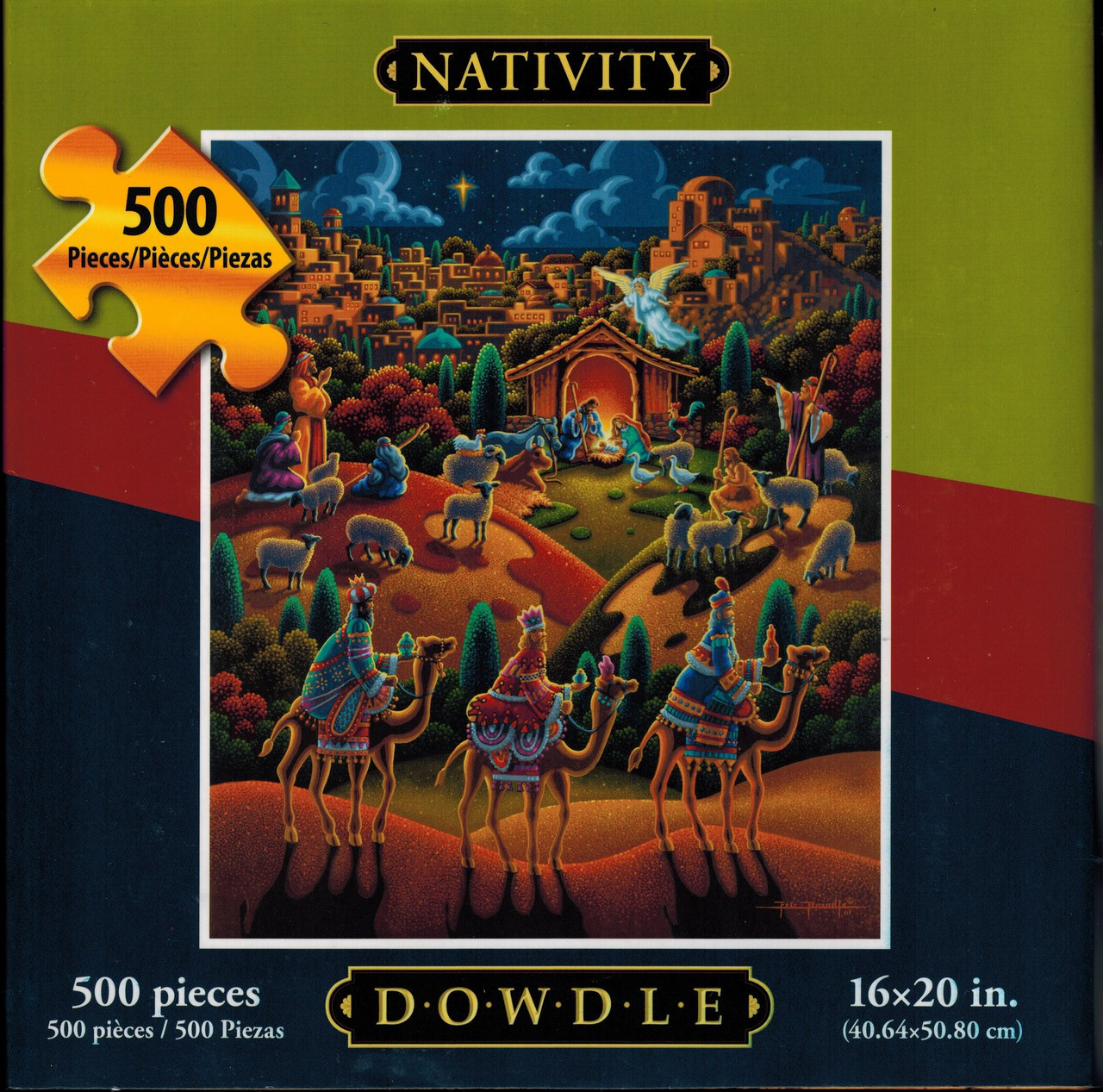 Nativity 500 piece jigsaw puzzle