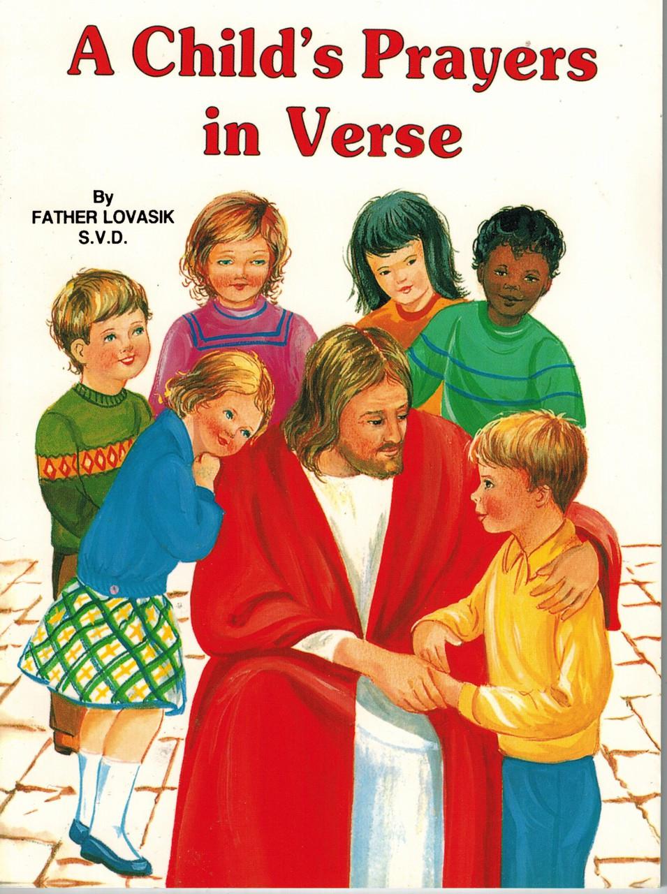 A Child's Prayers in Verse Children's Book