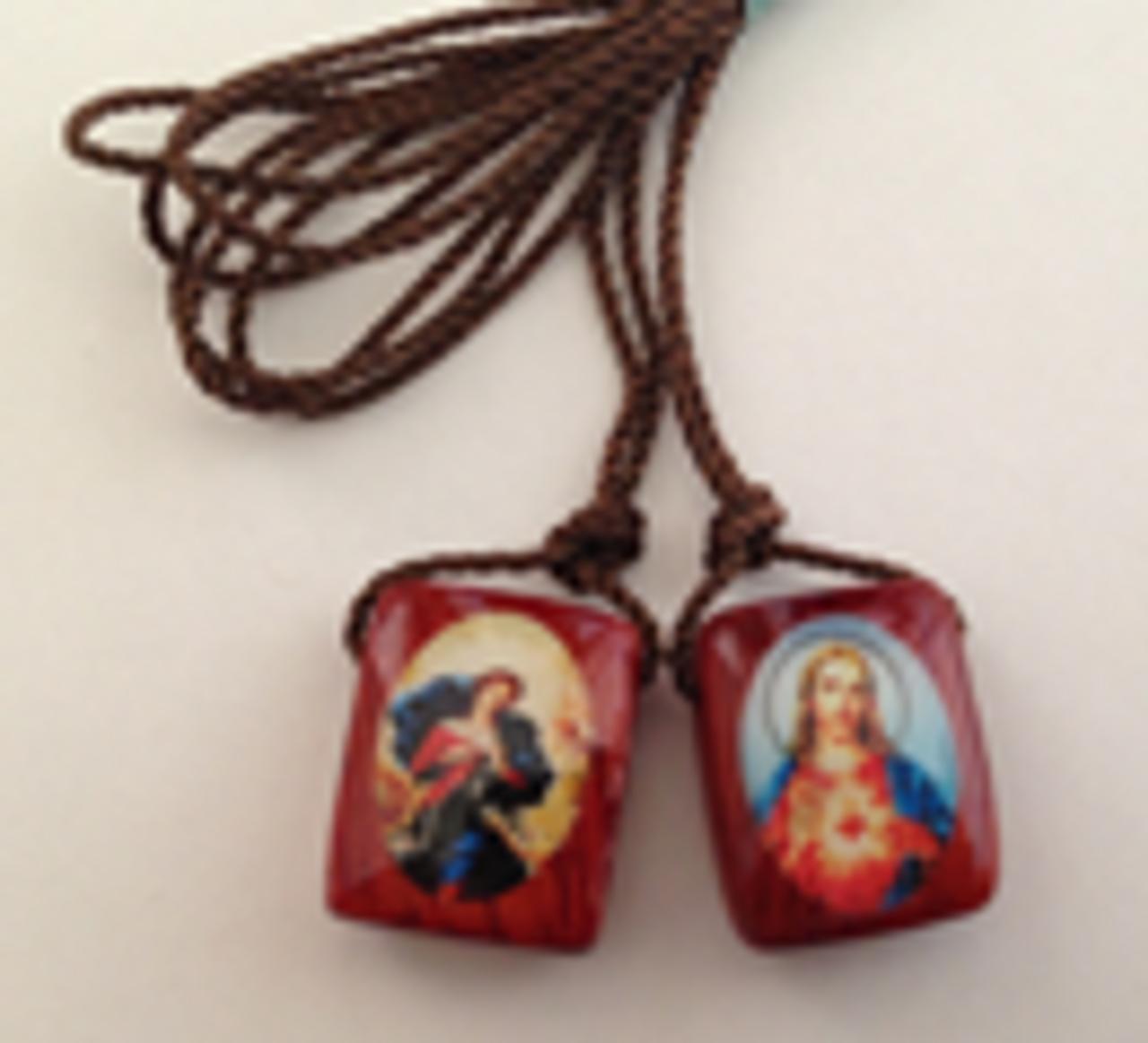 Mary, Undoer of Knots Scapular
