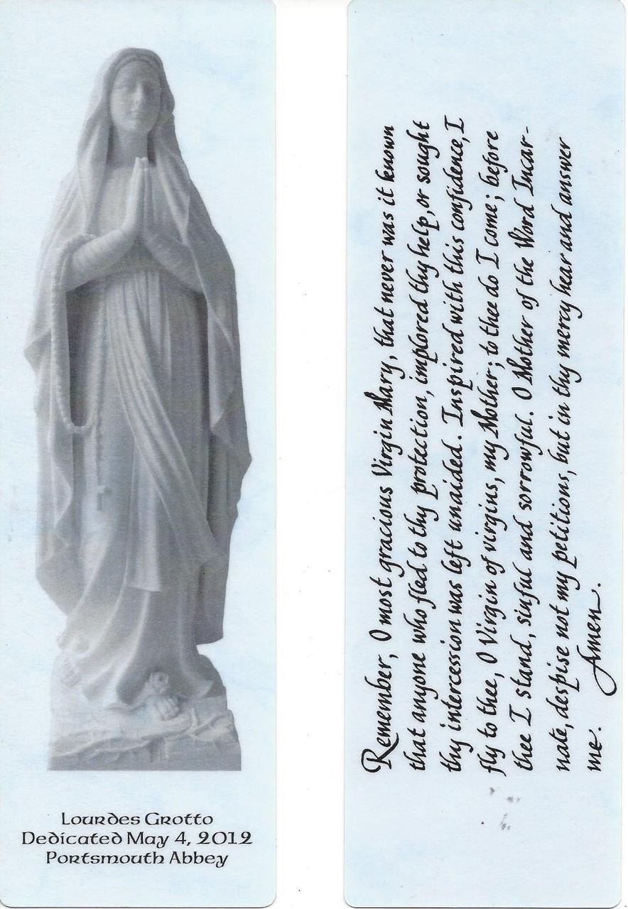 Lourdes Bookmark