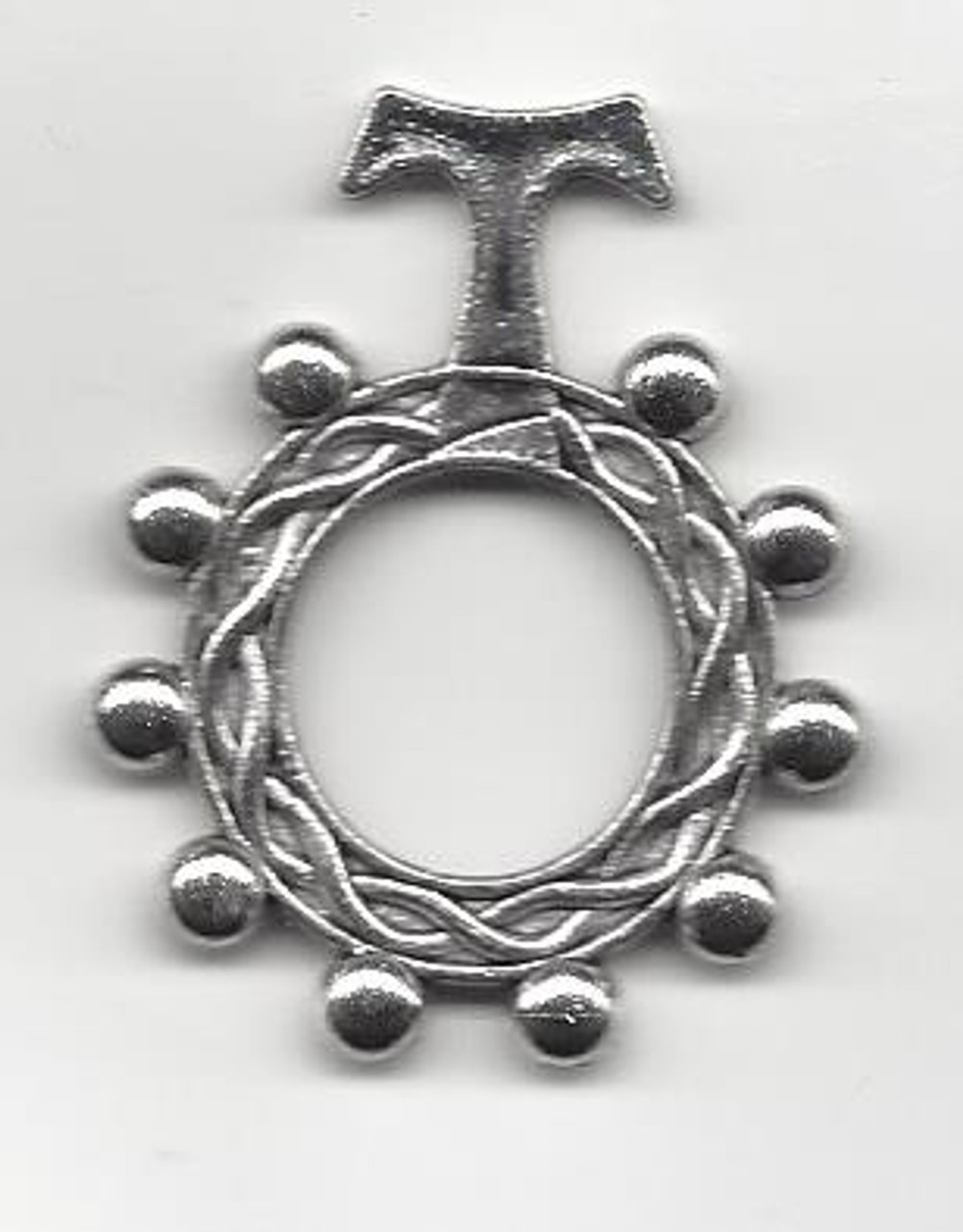 Tau Rosary Ring