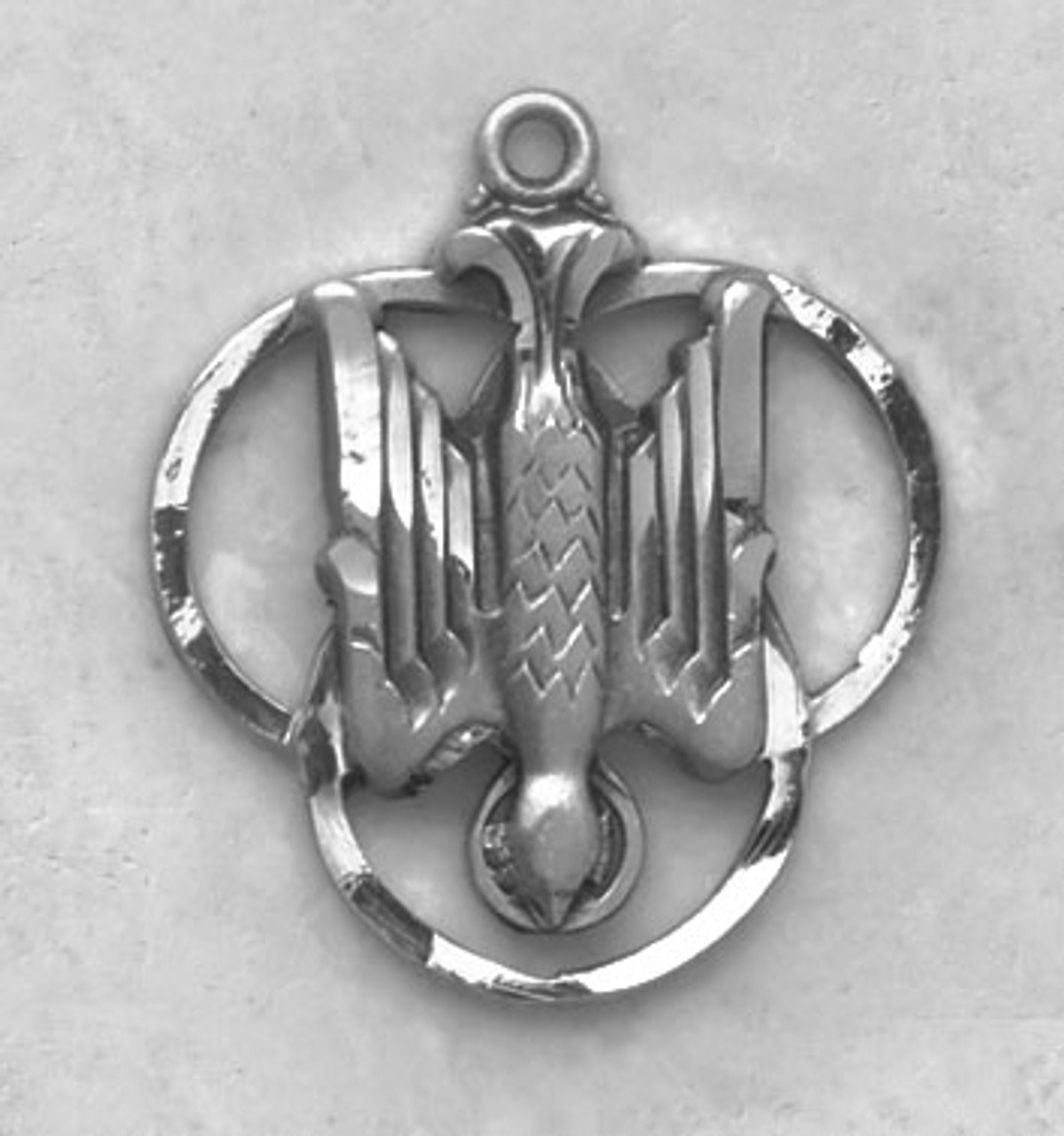 Holy Spirit Medal On Chain
