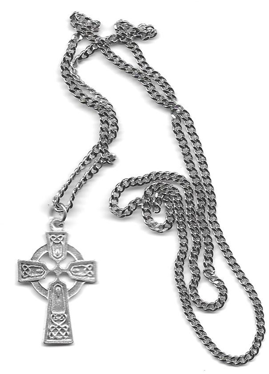 Boxed Celtic Cross on Chain