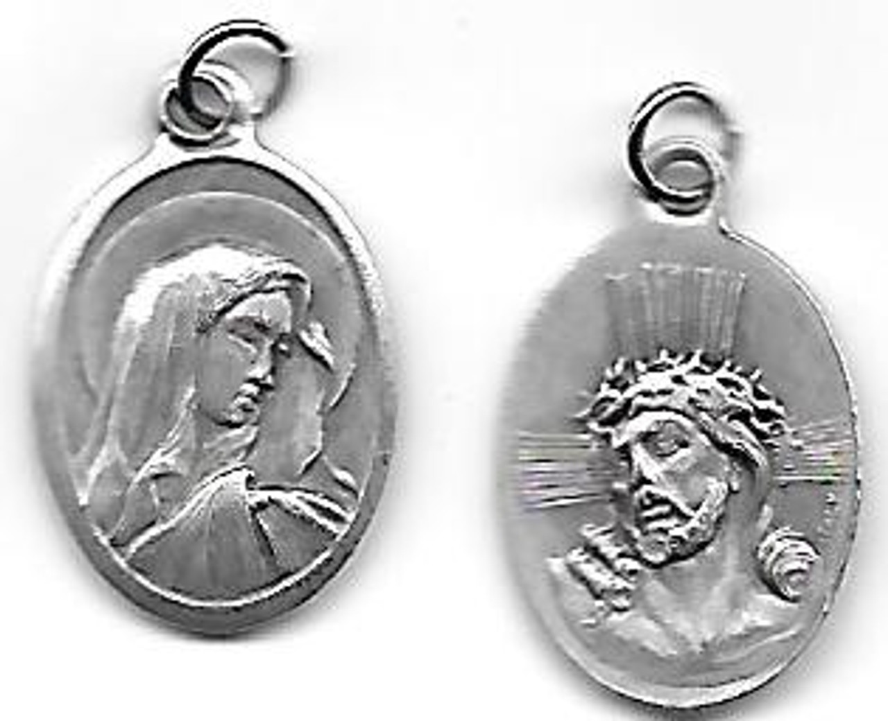 Crown of Thorns & Virgin Mary Medal