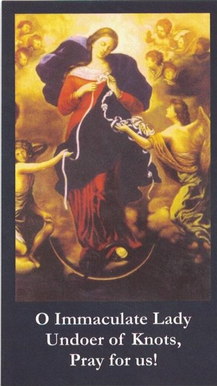 Front of prayer card (RC089)