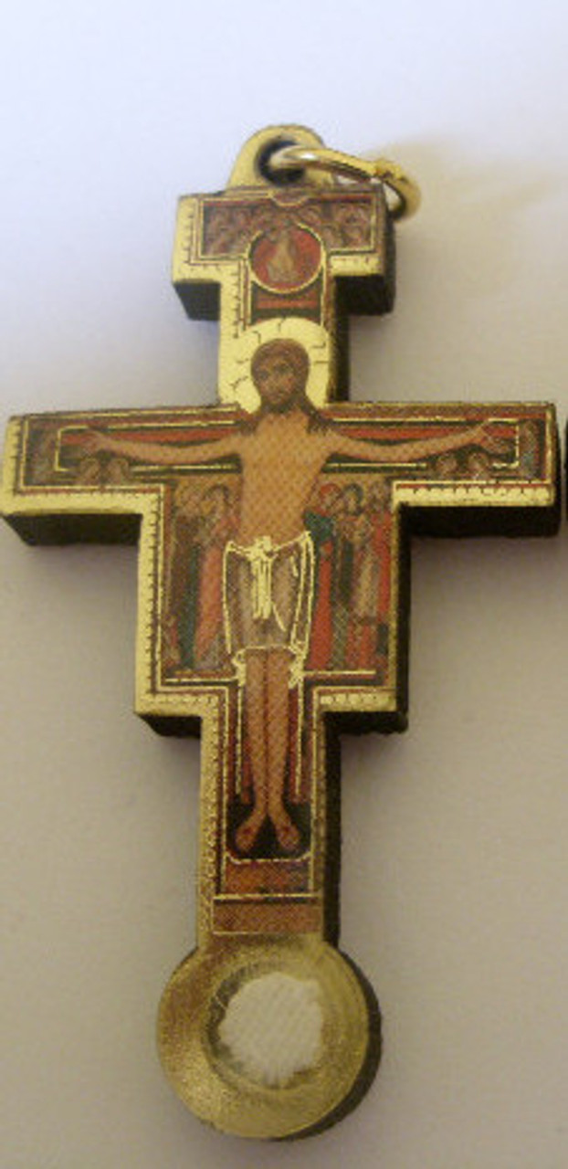 San Damiano Third Class Relic Crucifix