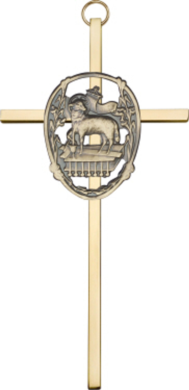 Bliss Lamb of God Cross