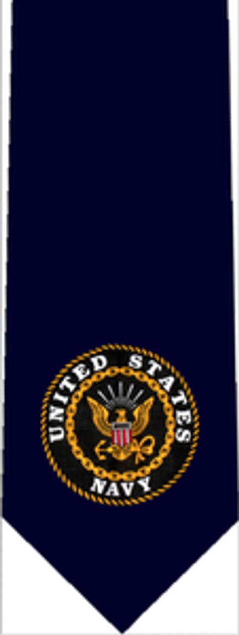 Navy Standard Tie