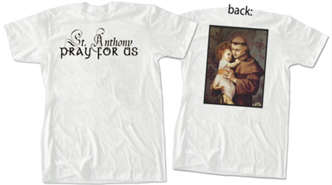 St. Anthony with Jesus Value T-Shirt