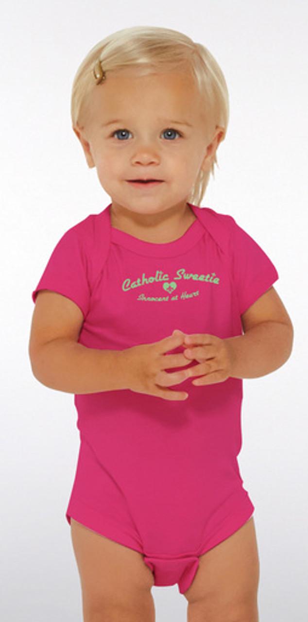 Catholic Sweetie Baby Onesie