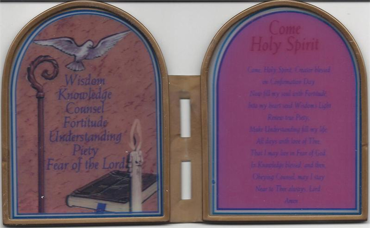 Confirmation Stand Up Plaque