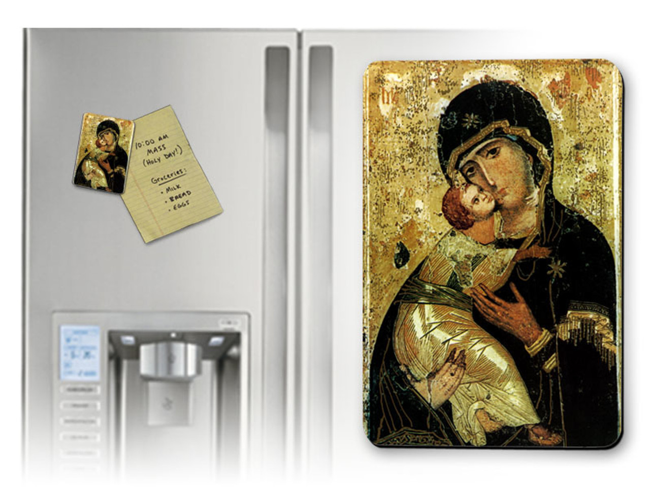 Our Lady of Vladimir Magnet