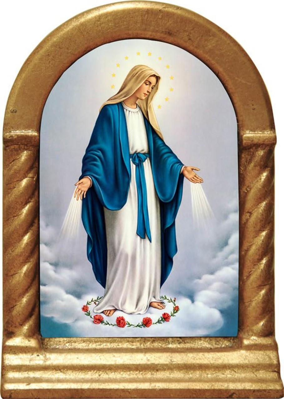 Our Lady of Grace Desk Shrine