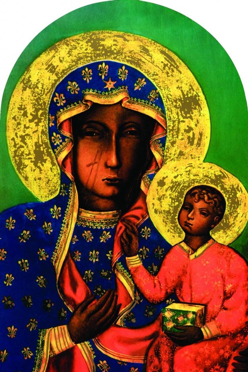 Our Lady of Czestachowa Arched Magnet