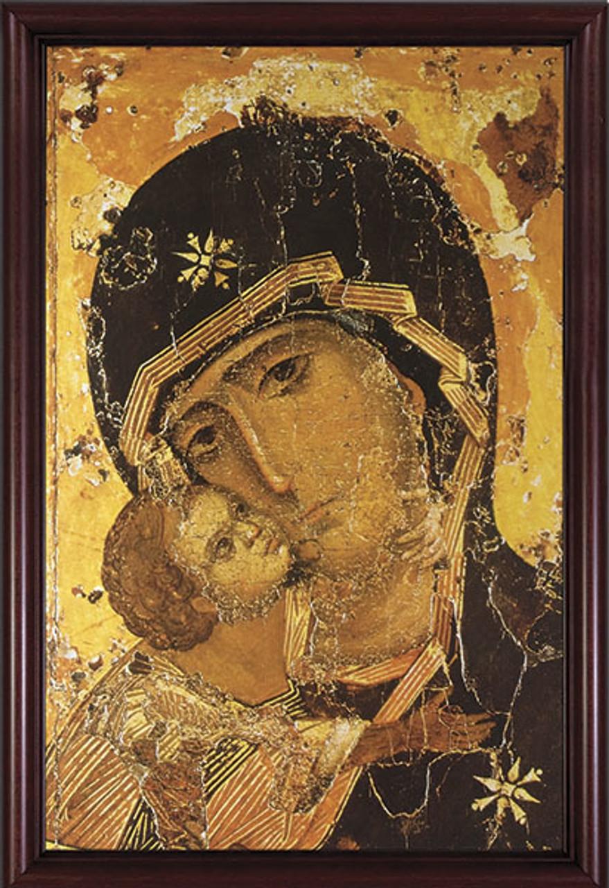 Our Lady of Vladimir Detail Framed Art