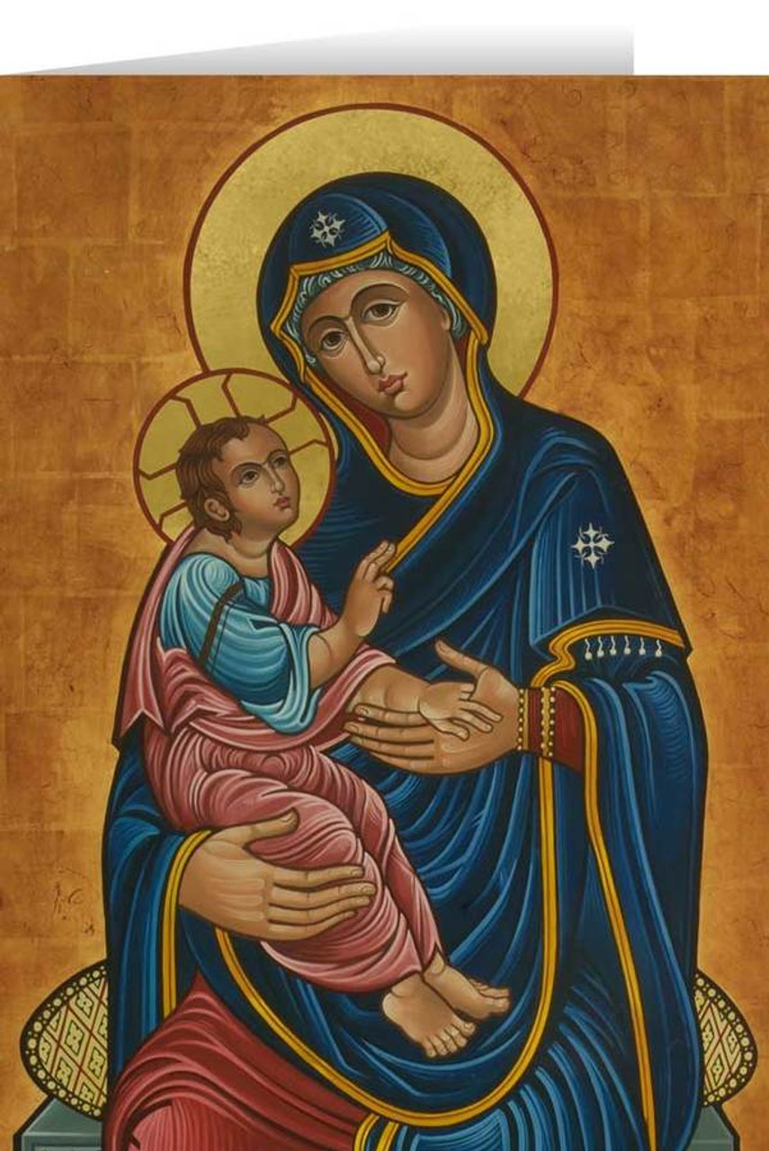 Our Lady of Good Health Greeting Card