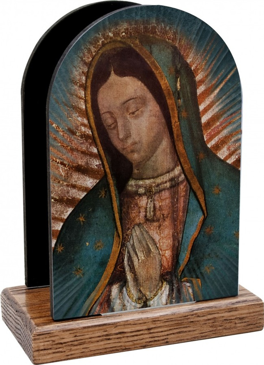 Our Lady of Guadalupe Detail Table Organizer (Vertical)