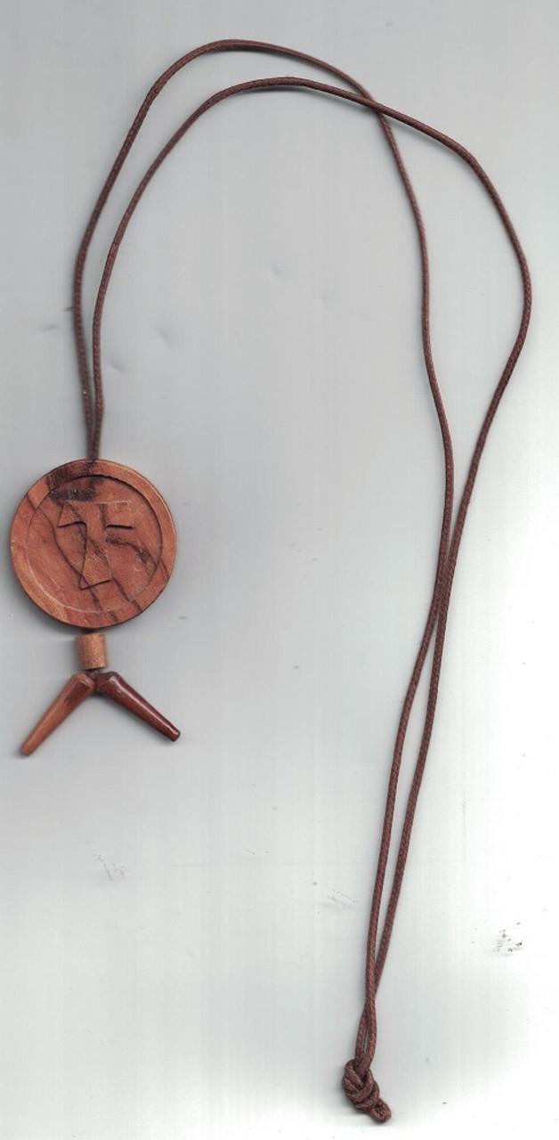 Tau Circular Necklace