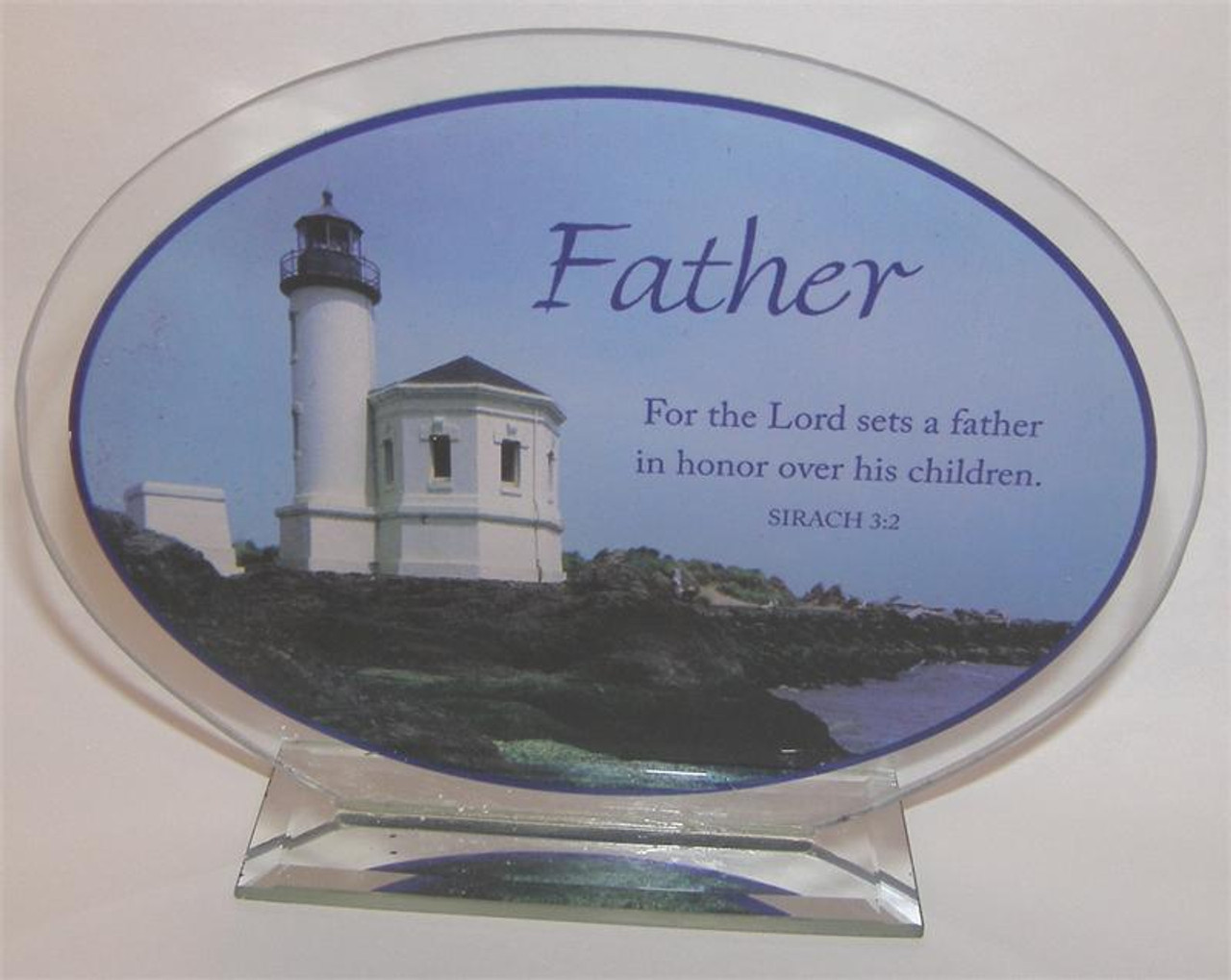 Father Stand Up Desk Plaque