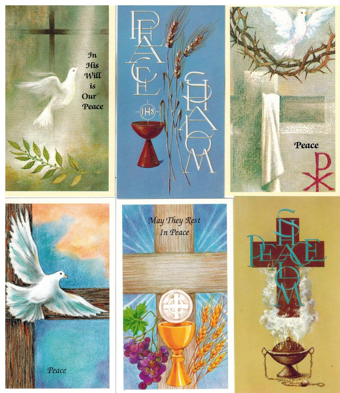 A Gift of Peace Holy Cards