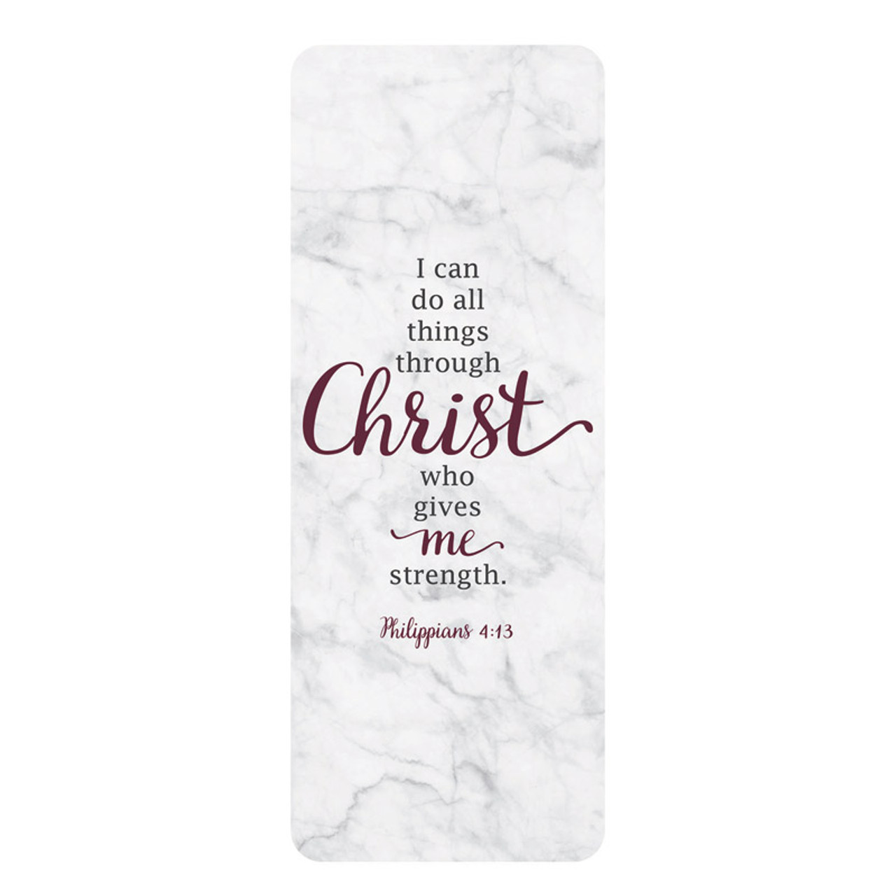 I Can Do All Things Through Christ Bookmark